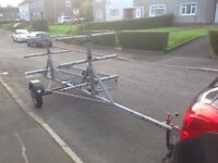 Galvanized Kayak trailer. £495 ono.