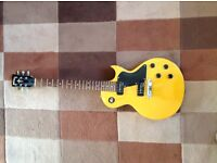 Vintage Les Paul style guitar. Wilkinson tuners and P90 pickups. Well looked after. Beautiful tone.