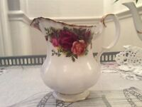 Royal Albert Bone China Milk Jug. Old Country Roses.