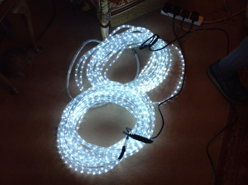 Rope lights £ 15