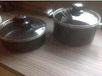 TEFAL 2 POTS/PAN FOR SALE