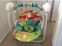 Bright starts baby swing seat