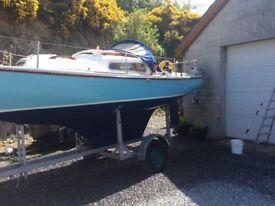 Corribee sailing boat