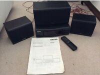 Sanyo Surround sound system.