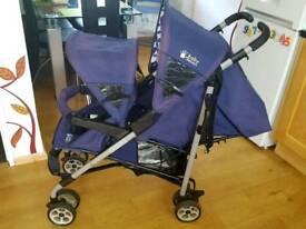 Double pushchair - Baby Weavers