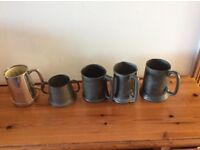 Collection of Tankards