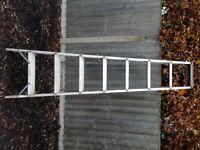 8 Tread Aluminium Industrial Swingback Step ladder