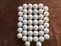 40 Titleist Pro V1 Practice Golf Balls .