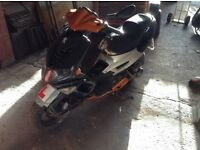 Peugeot street fight 50cc moped spares or repair runs