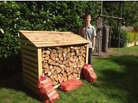Logs Seasoned hardwood with free local delivery
