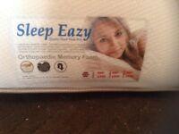 King size memory foam mattress,£50.00