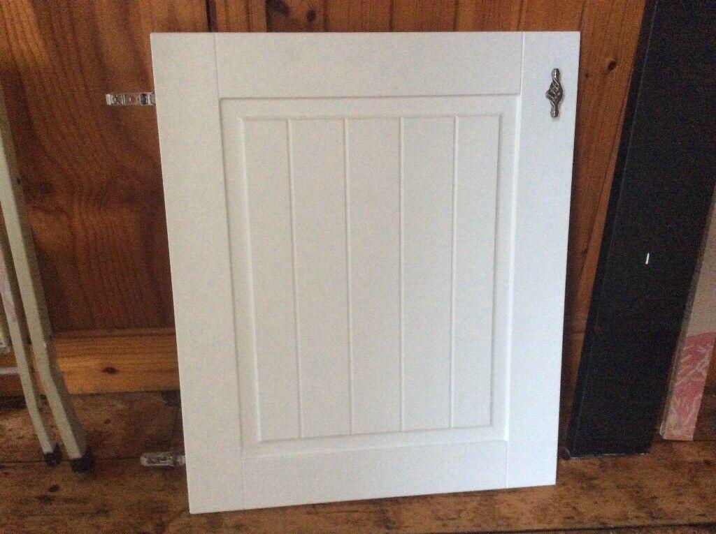 Kitchen Cabinet Door White Tongue Groove Howdens Burford Range