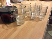 Selection of Nespresso Glasses & Saucers