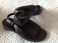Black Stonefly Sandals