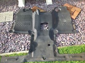 Ford transit floor matt for single or double seats