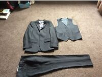 Paisley of London Black 3 piece suit - aged 11 Boys - only worn once