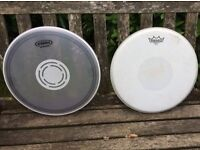 """Drums - 14"""" Snare Drum Heads x 4 - Remo Evans"""