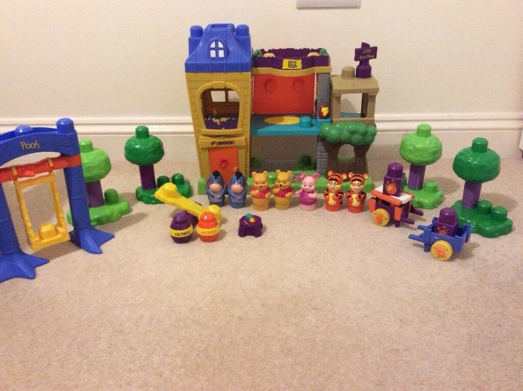 Mega Blocks / Bloks Winne the Pooh and Disney Princesses