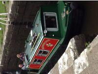 2 berth Rosie and Jim Narrow Boat reg 1989