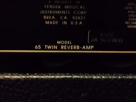 Reverb Fender Twin available