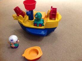 TOMY Pirate Ship Bath Toy