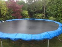 Full size trampoline for sale excellent condition