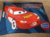 Disney Cars Lightning McQueen Fleece Blanket