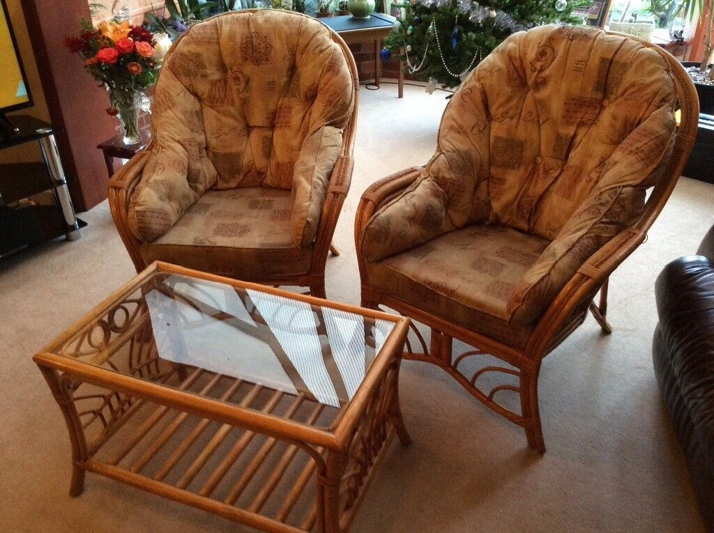 Conservatory Furniture Set Two Chairs Plus Coffee Table In Pinner London Gumtree