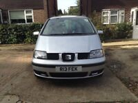 Seat Alhambra 1.9TDI 2004 7 seater with full service history