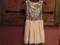 Girls Sparkly Sequin Dress Age 11/12