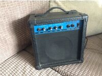 Guitar amp and leads