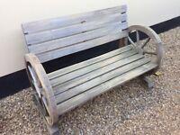 Garden bench is SOLD!!