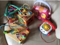 Fisher Price, Chicco, ELC Toys