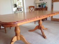 Large Dining Room Table by DUCAL, in near new condition.