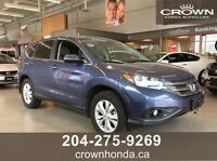 2013 HONDA CR-V EX 4WD - LOCAL TRADE, NO ACCIDENTS!