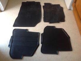 Original Audi A1 rubber mats
