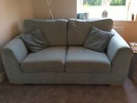 Duck egg blue 2 seater sofa