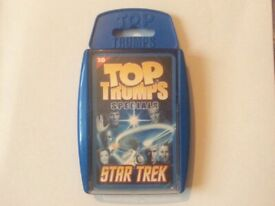 Star Trek Top Trumps Specials in 3D, Brand New and Sealed.