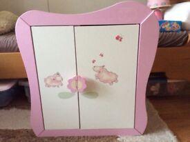 Zapf creation baby Annabelle wooden doll's wardrobe