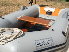 For Sale: Inflatable dinghy and outboard motor