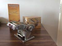 Marcato pasta machine and drying stand