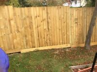 Local featherboard fencing