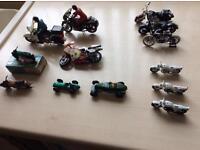 Matchbox motorbikes