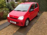 Daihatsu charade 989cc. LITTLE USED--£30 road tax / newly Mot'd