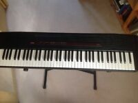 Casio CPS-7 piano keyboard and stand for sale.