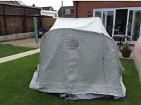 Isabella Annexe to fit Magnum Porch Awning, complete with Inner bedroom.
