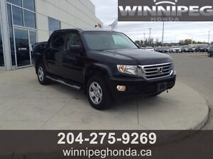 2012 Honda Ridgeline DX 4WD. Local trade, One owner, Lease retu