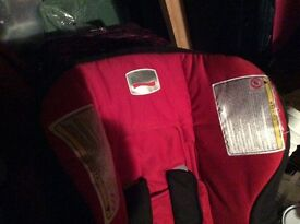 Childs car seat Britax Red and Black 12 months to 4 years