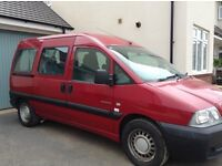Wheelchair Accessible Vehicle Citroen Dispatch 2004 with very low mileage