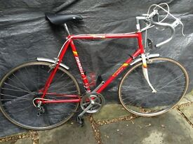 VINTAGE RETRO EROICA Emmelle 10 speed Racing bike
